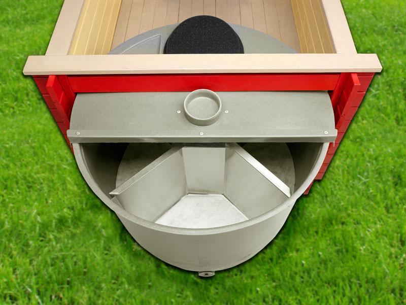 Емкость для туалета на даче